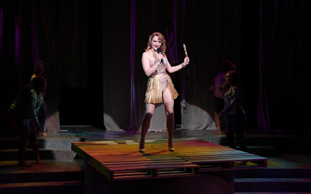 Alana as Helen in TROJAN WOMEN: A LOVE STORY