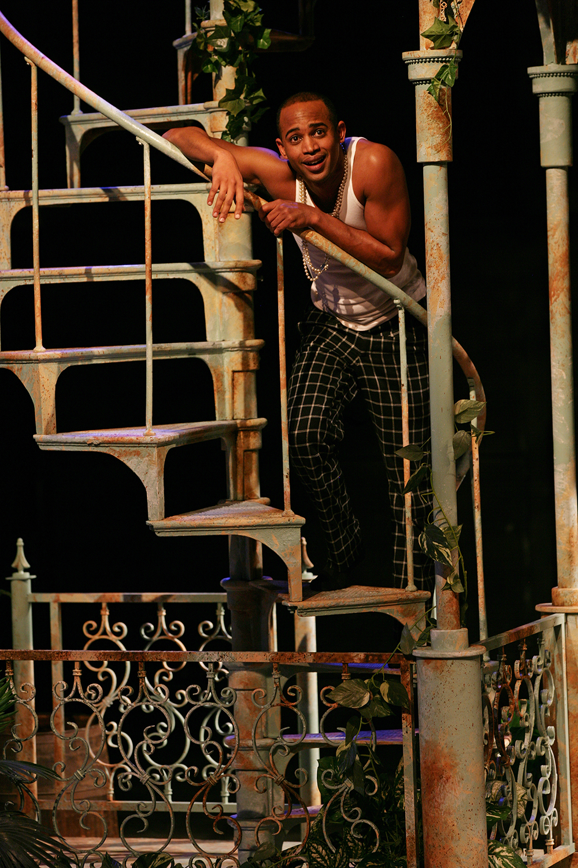 AJ as Sebastian in TWELFTH NIGHT