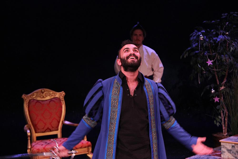 Adrian as Segismundo in SUEÑO