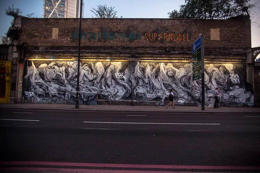 Shoreditch, London 2014
