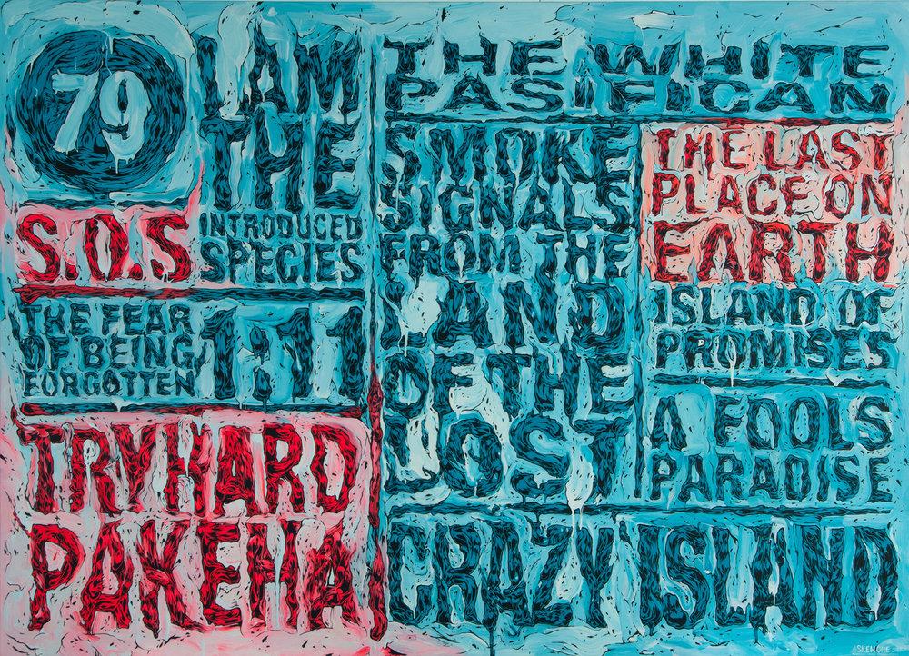 Pakeha On Crazy Island, 2012