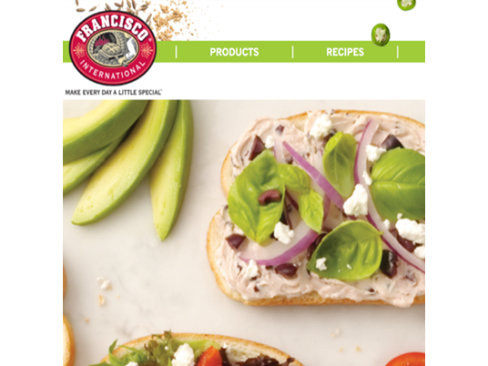 FRANCISCO SOURDOUGH BREAD- WEBSITE DESIGN -