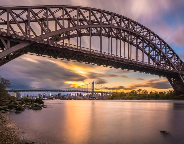 Hell Gate Bridge  Image Credit: @john_randazzo_photography