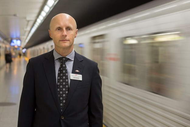 Andy Byford, the MTA's new Transit President