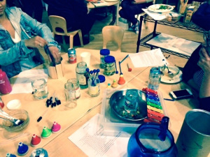 Jars Water Music Science Atelier