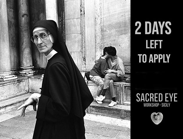 We have an announcement to make! Work from Sacred Eye Sicily will be screened at the W Eugene Smith Fund ceremony in NYC this year. It's an unprecedented chance to have your work in front of the industry's most prestigious photo editors and photographers. We can't wait to see what the participants will create. Link to application in profile!