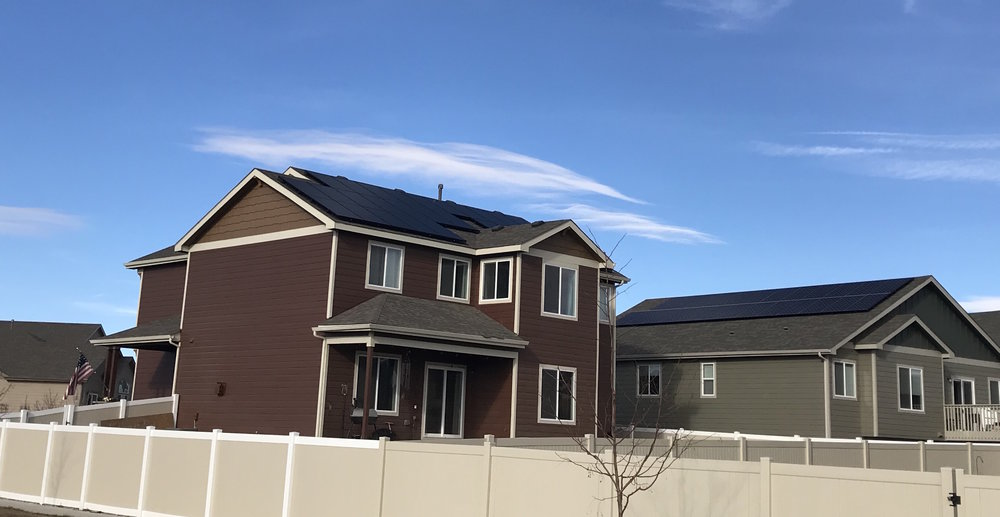 Energy independent neighbors in Colorado!