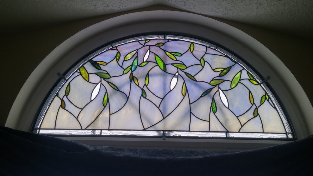 Stained Glass, Blanchard  Holdman Studios
