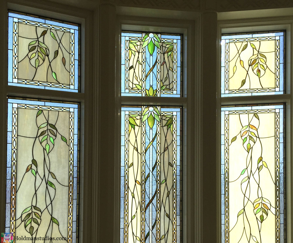 Holdman_Studios_Stained_Art_Glass_Payson_Utah_Temple_Apple_Blossom_Leaves_DNA_Spiral_Windows.jpg