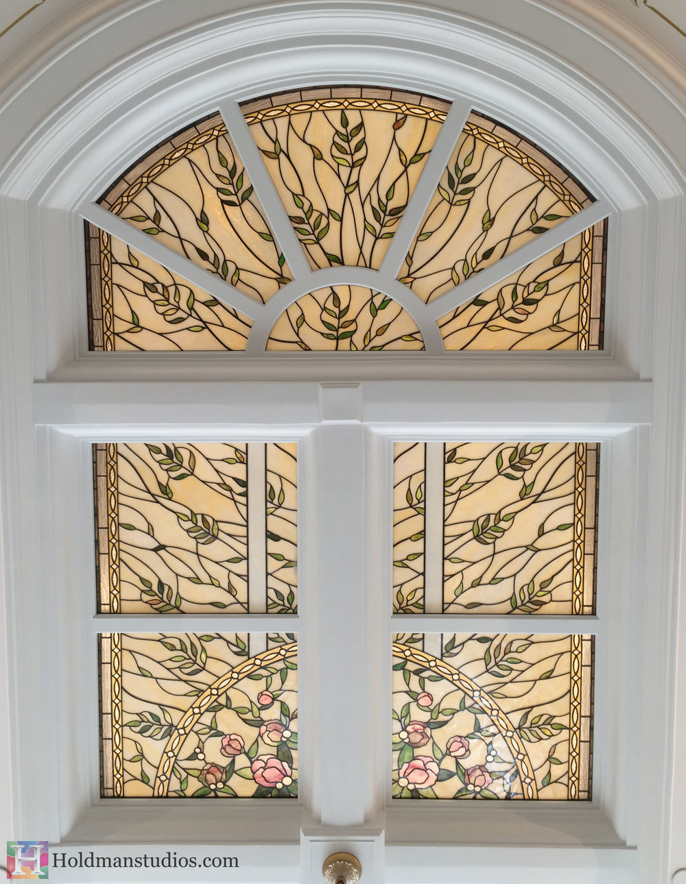 Holdman_Studios_Stained_Art_Glass_Payson_Utah_Temple_Apple_Blossom_Leaves_Skylight_Windows.jpg
