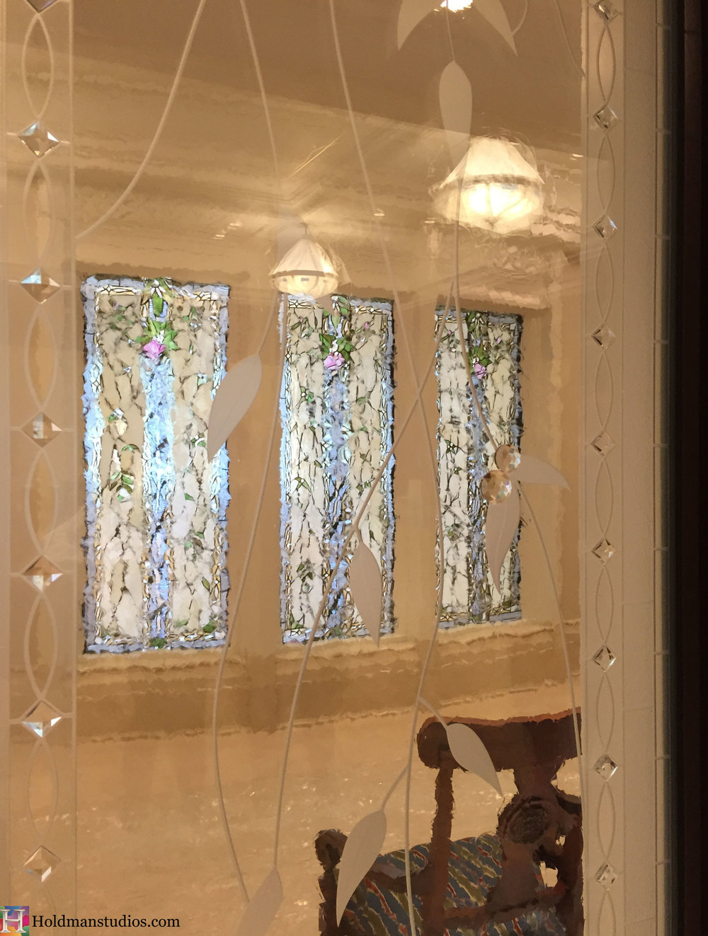 Holdman_Studios_Stained_Etched_Art_Glass_Payson_Utah_Temple_Apple_Blossom_Leaves_DNA_Spiral_Windows.jpg