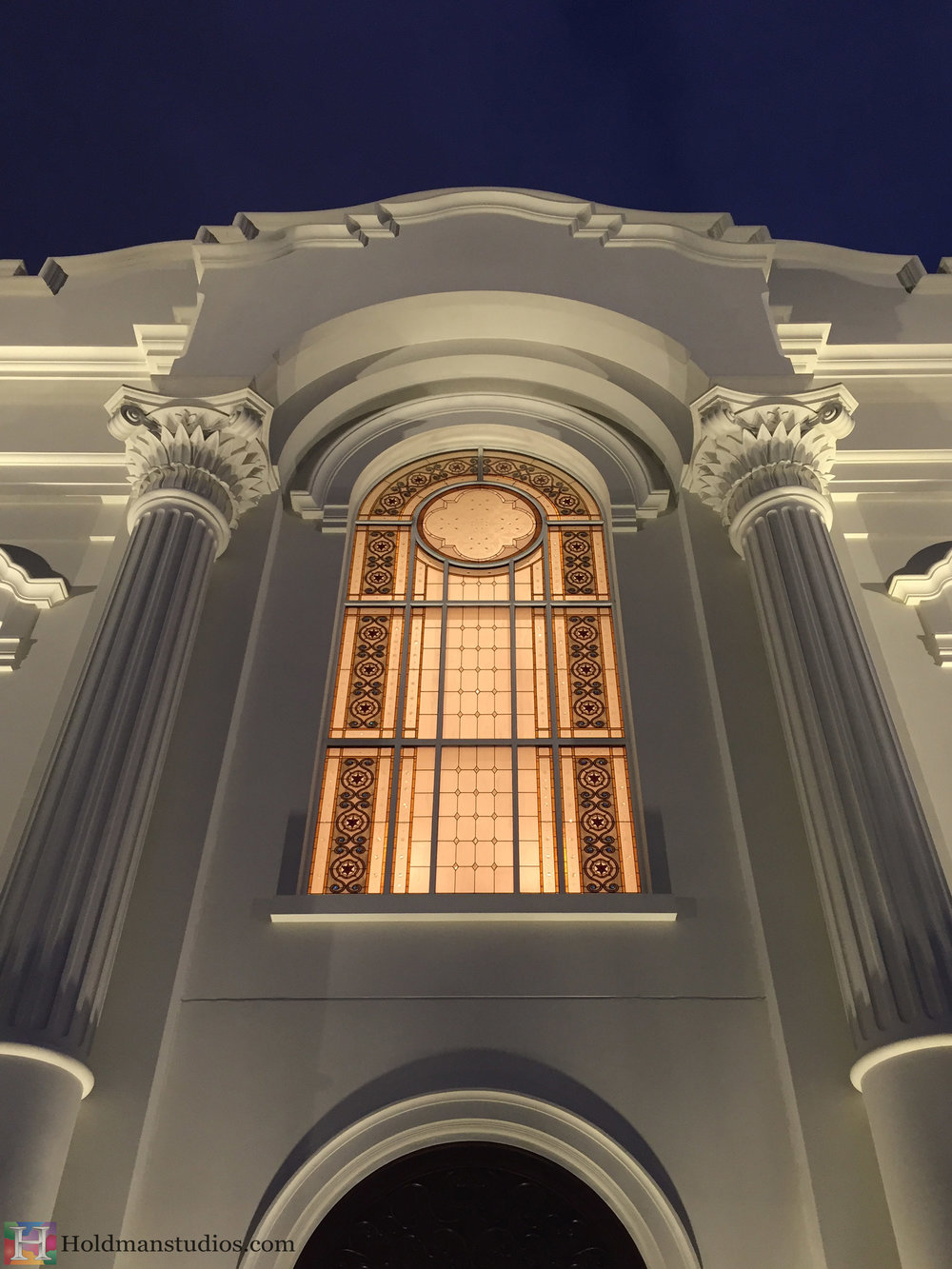 Holdman-Studios-Stained-Etched-Art-Glass-LDS-Mormon-Temple-Tijuana-Mexico-Exterior-Bougainvillea-Bugambilia-Flower-Rose-Window.jpg