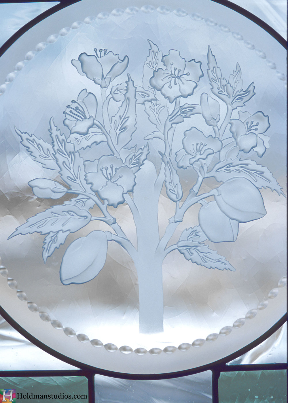 Holdman-Studios-Stained-Etched-Art-Glass-LDS-Mormon-Temple-Winter-Quaters-Omaha-Nebraska-Preisthood-Aaron-Almond-Branch-Leaves-Window.jpg