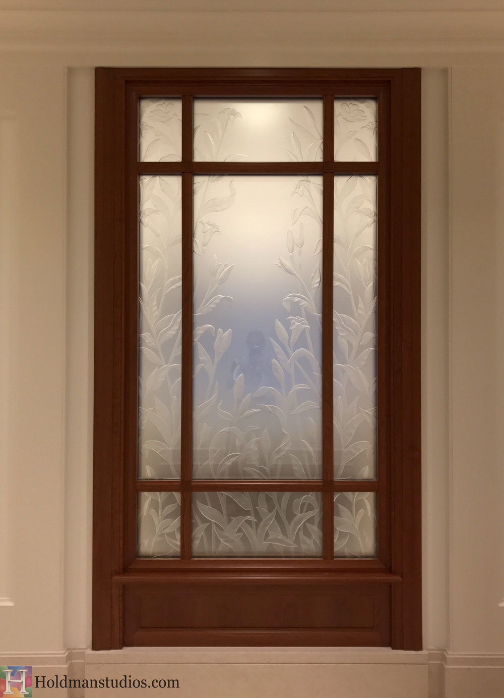 Holdman-Studios-Stained-Etched-Glass-Paris-LDS-Temple-Madona-Lily-Flowers-Interior-Windows.jpg