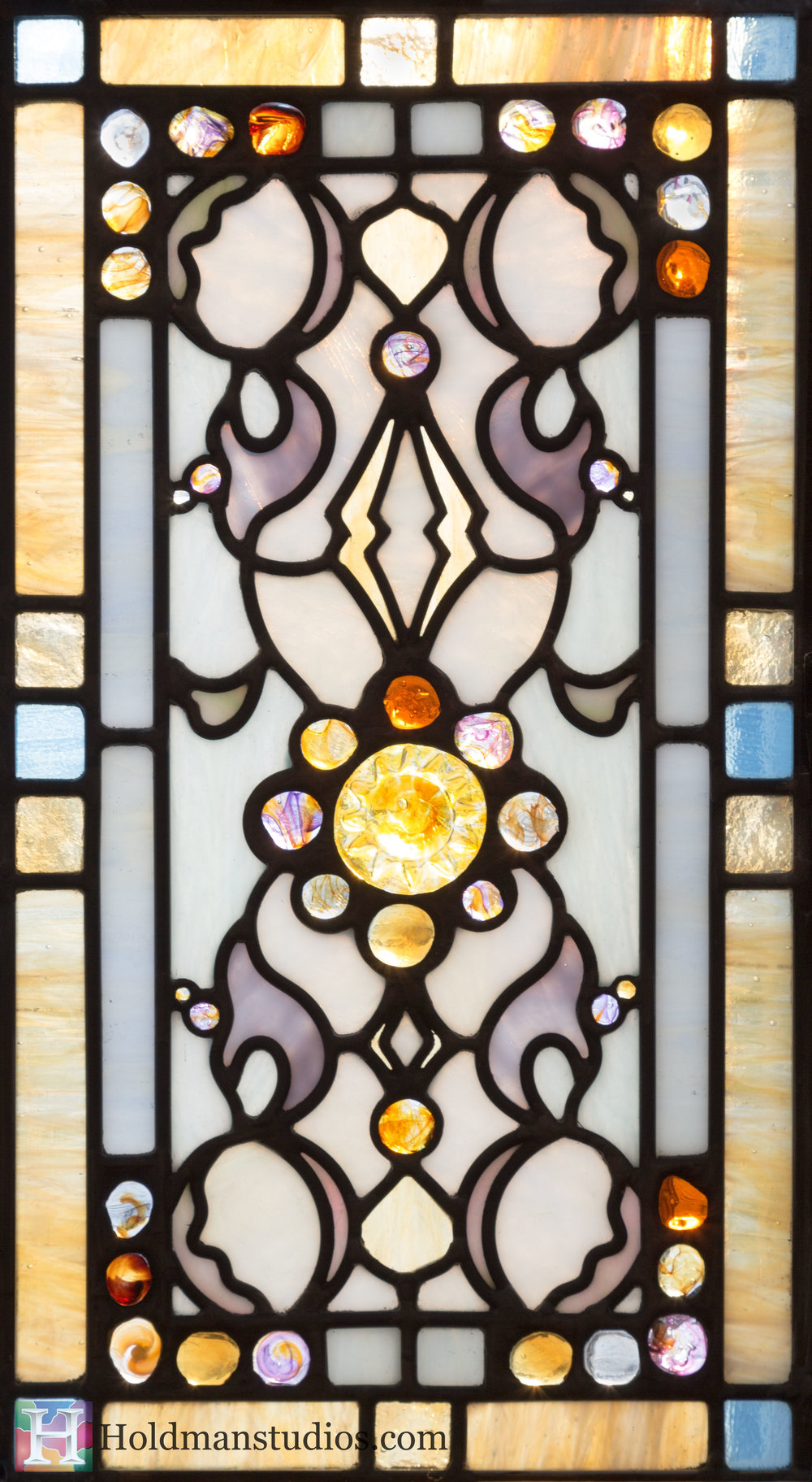 Holdman-Studios-Stained-Glass-Small-Window-Flowers-Floral-Pattern-Handmade-Jewels-Square-Rectangles.jpg