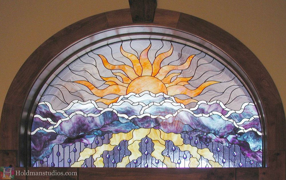 Holdman-Studios-Stained-Glass-Window-Doorway-Sun-Clouds-Raindrops-Lightning-Silver-Lining-Transom-Crop.jpg