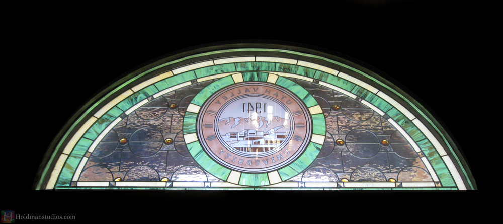 Holdman-studios-stained-glass-transom-window-utah-valley-university-alumni-house.jpg