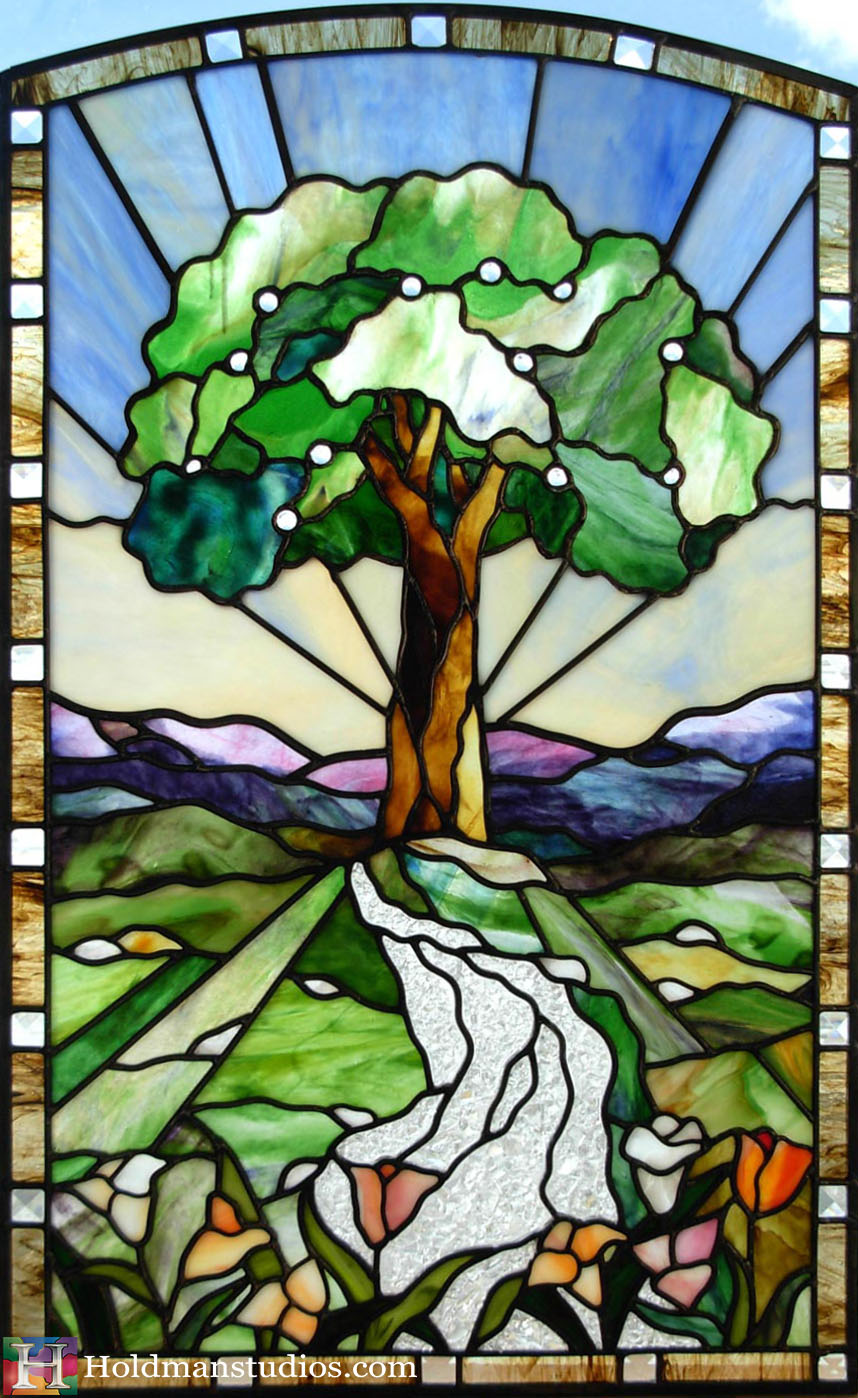 Holdman-Studios-Stained-Glass-Window-Tree-of-Life-Fruit-River-Tulip-Flowers-Mountains-Sky.jpg