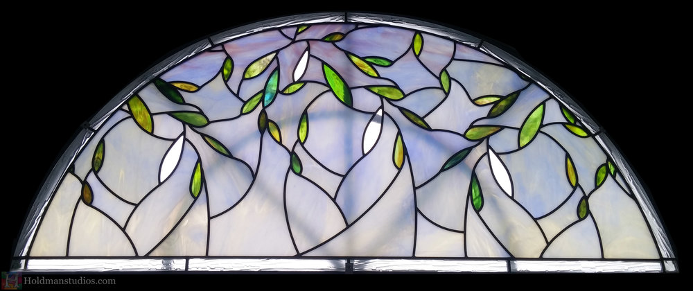 holdman-studios-stained-textured-glass-lunette-window-olive-leaves.jpg