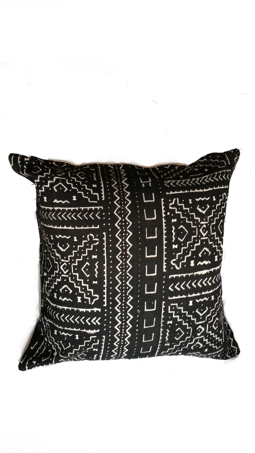MUD CLOTH PILLOW   Handmade and dyed mud cloth from Burkina Faso by textile masters. Sewn by master tailors in Tamale, Ghana.