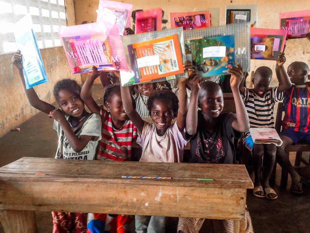 Kids showing thier package.-3-2.jpg
