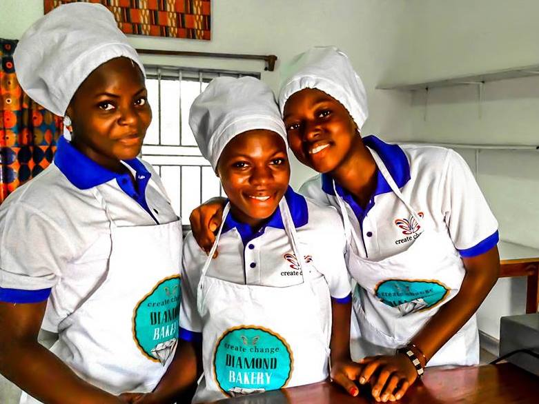 Bakery trainees