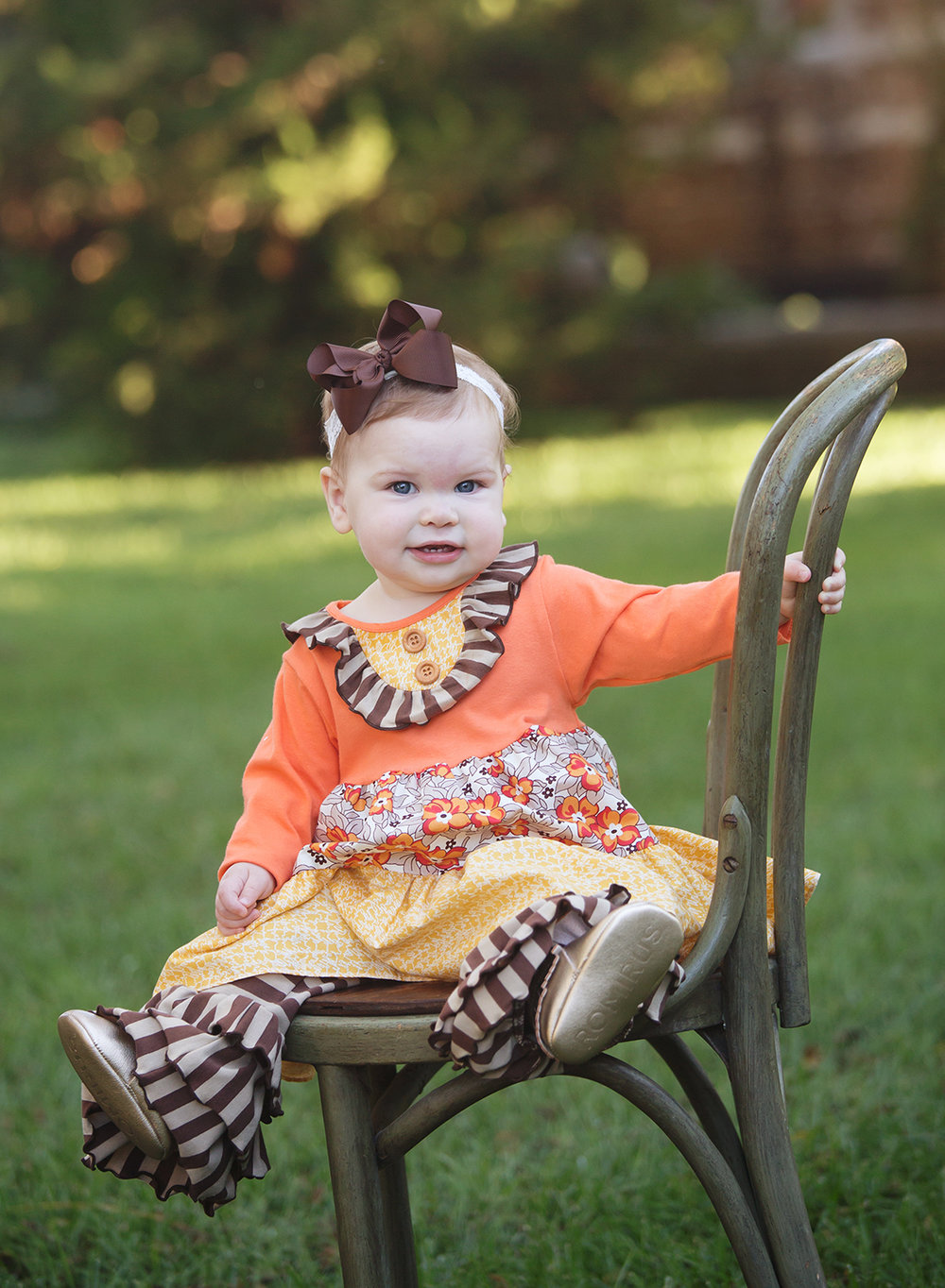 fall baby photos, cute baby pictures, kansas city baby photos