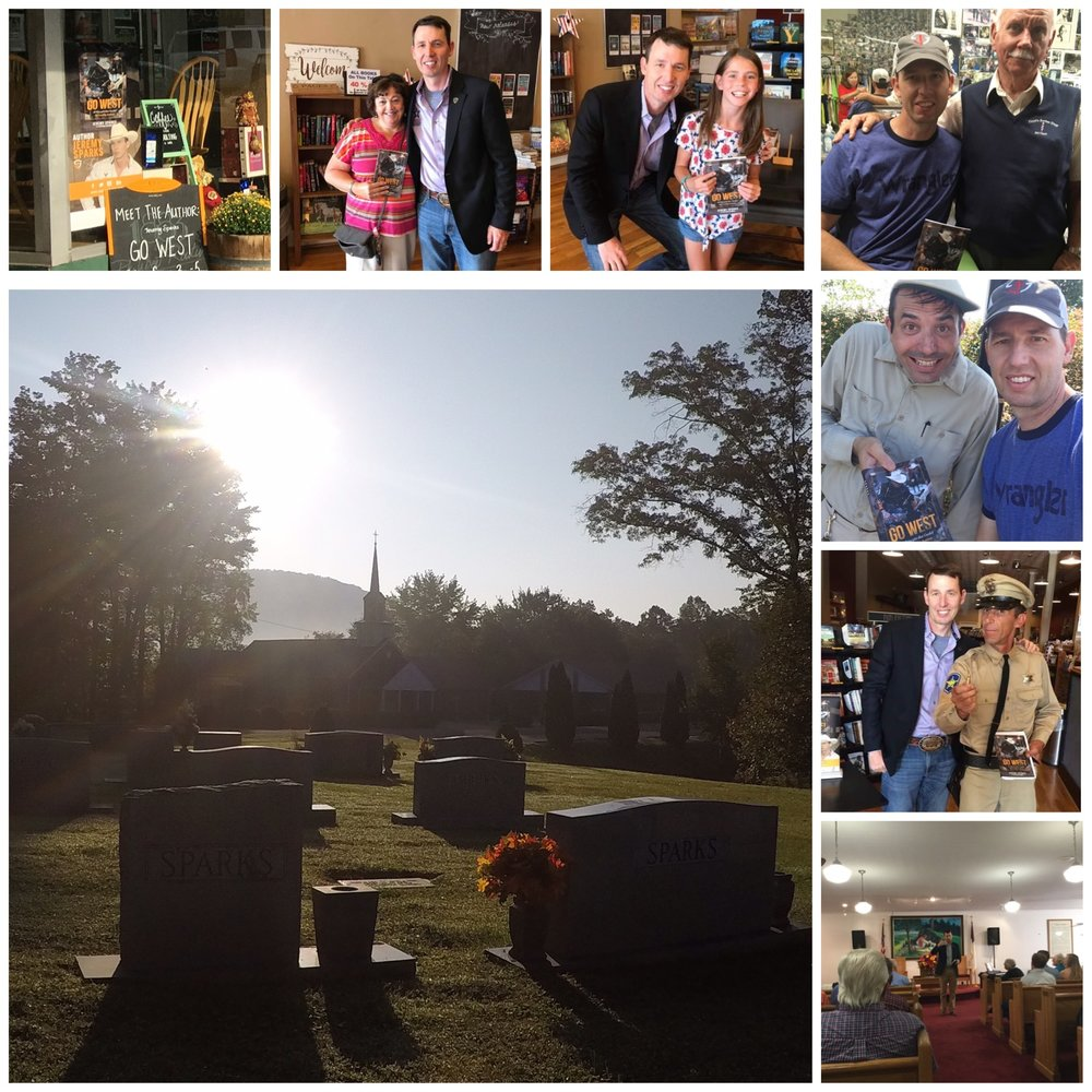 The Turn 'Em Out Tour recently took me to my dad's hometown –  Mayberry!