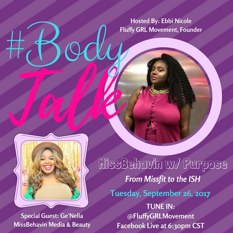 Misbehavin' With Purpose - In this episode of #BodyTalk we will be talking about how acting up and out can be the thing that sets you apart from the crowd. Who better to talk about missbehavin' than the