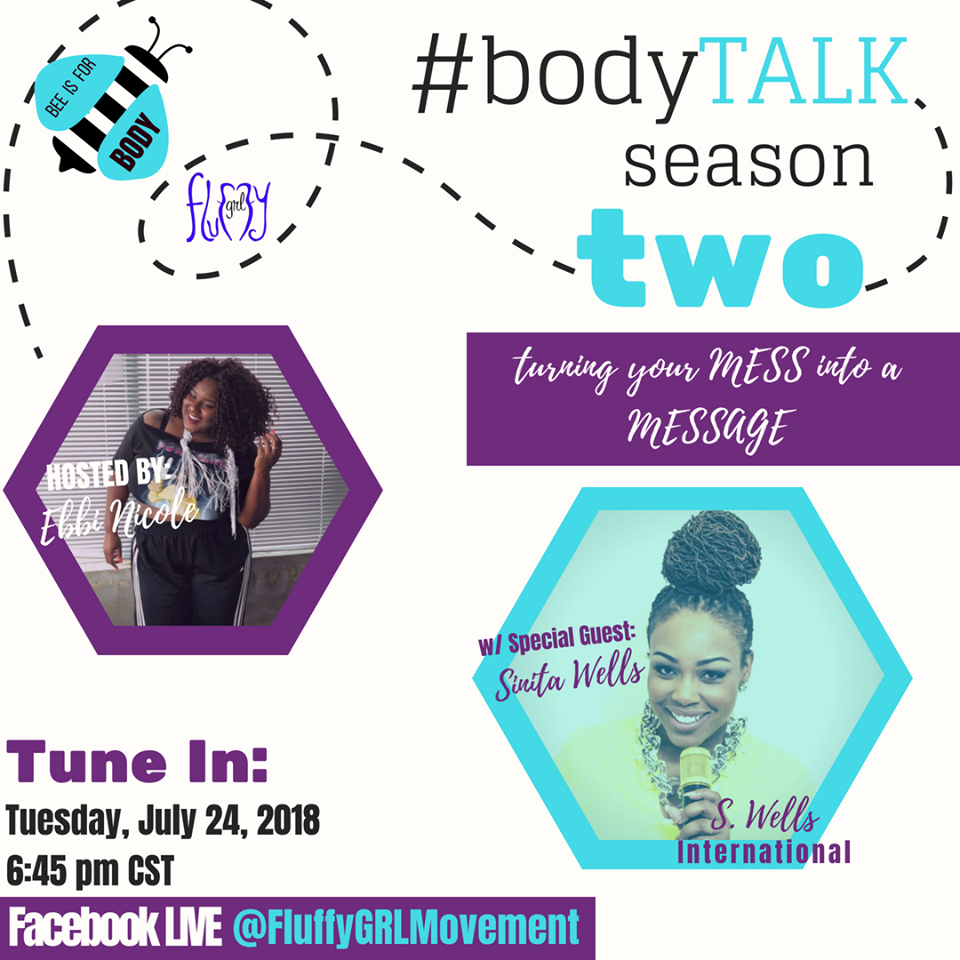 Turning Your Mess Into a Message - Do you find yourself in a literal whirlwind of dreams and drama? Tune in to sip tea with fellow fluffette, Sinita Wells as we discuss BAWDY, goals and how to transform your mess into your MESSAGE!