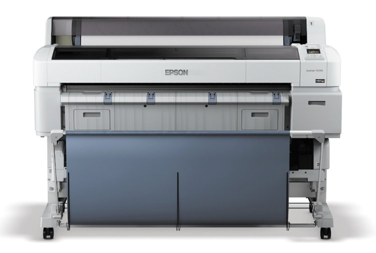 "The 44"" Epson SureColor Printer which prints on a wide range of paper and fabric."