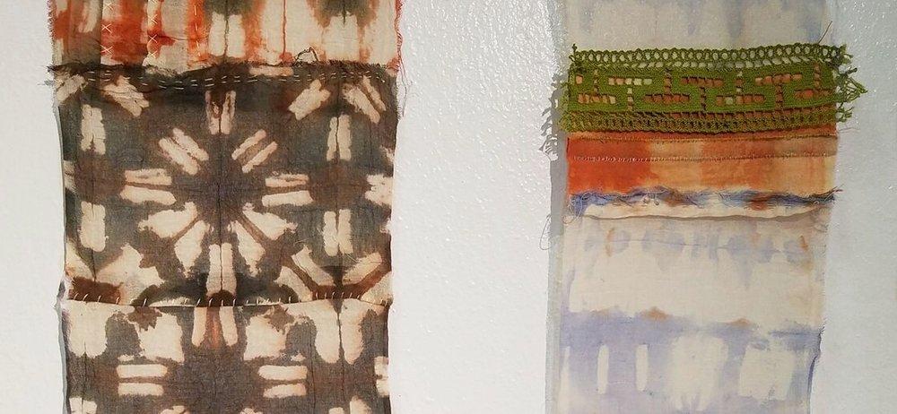 Examples of bojagi panels