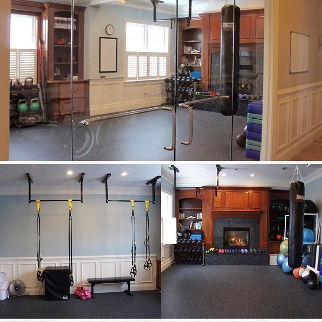 InMotion Personal Training's three redesigned training rooms to fit any client's exercise goals! #personaltrainer #personaltraining #fitnessmotivation #shrewsbury #fitness #behealthy #gym #exercises #workhardplayhard #workouts #workoutmotivation #getstrong #fitnessinstruction