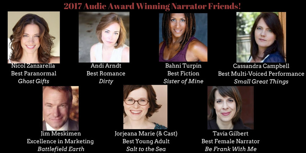 2017 Audie Winning Narrators