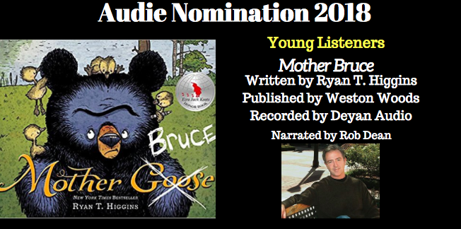 Mother Bruce - 2018 Audie Nominee for Best Young Listeners