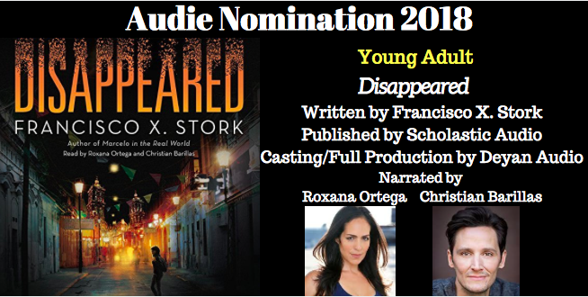 Disappeared - 2018 Audie Nominee for Best Young Adult