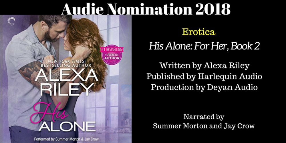 His Alone - 2018 Audie Nominee for Best Erotica