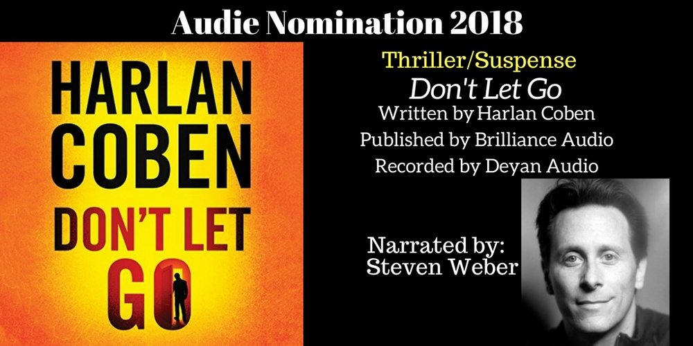 Don't Let Go - 2018 Audie Nominee Best Thriller / Suspense