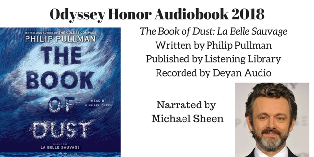 The Book of Dust: La Belle Sauvage - 2018 Odyssey Honor
