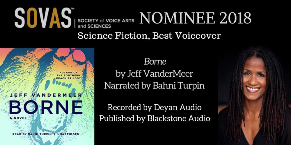 Borne  //  Blackstone Audio  // Narrated by  Bahni Turpin  // Recording