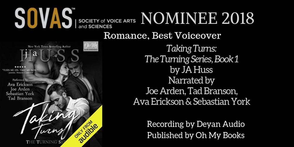 Taking Turns  // Oh My Books // Narrated by Tad Bransen, Joe Arden, Ava Erickson, and Sebastian York // Recording