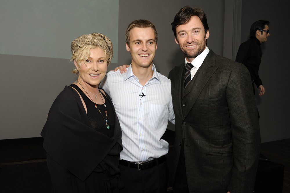 2009 Global Poverty Project Launch Event - Deborrah Lee Furness, Hugh Evans and Hugh Jackman.jpg