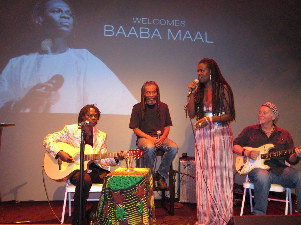 2010 Baaba Maal Concert - Baaba Maal, Bobby McFerrin and Somi.jpg