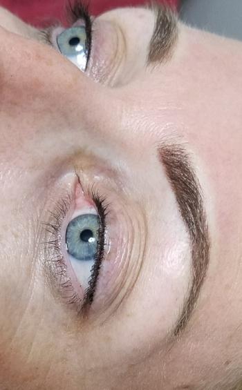 Stardust Brows   upper eyelash enhancement