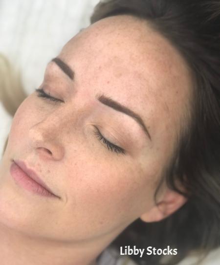 cosmetic tattoo   powder brow