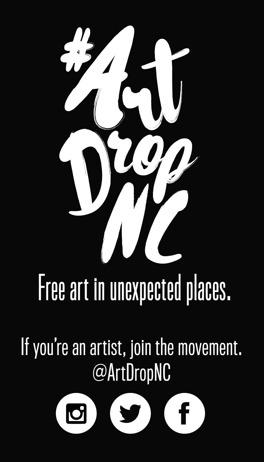 #ArtDropNC