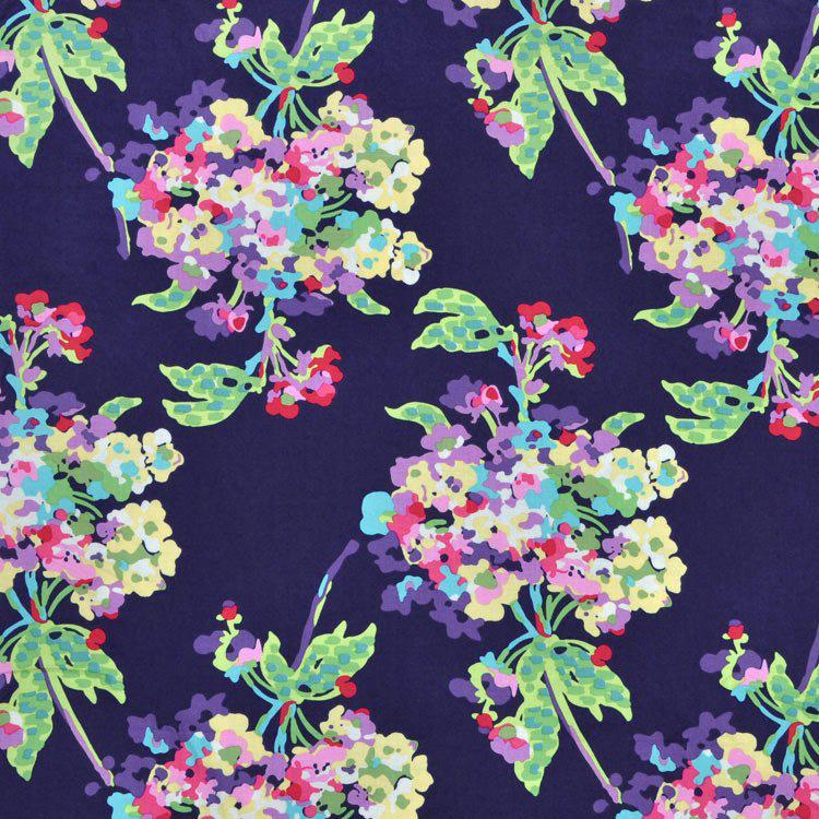 Free Spirit - Water Bouquet, Midnight by Amy Butler 100% Cotton $11.90/yd