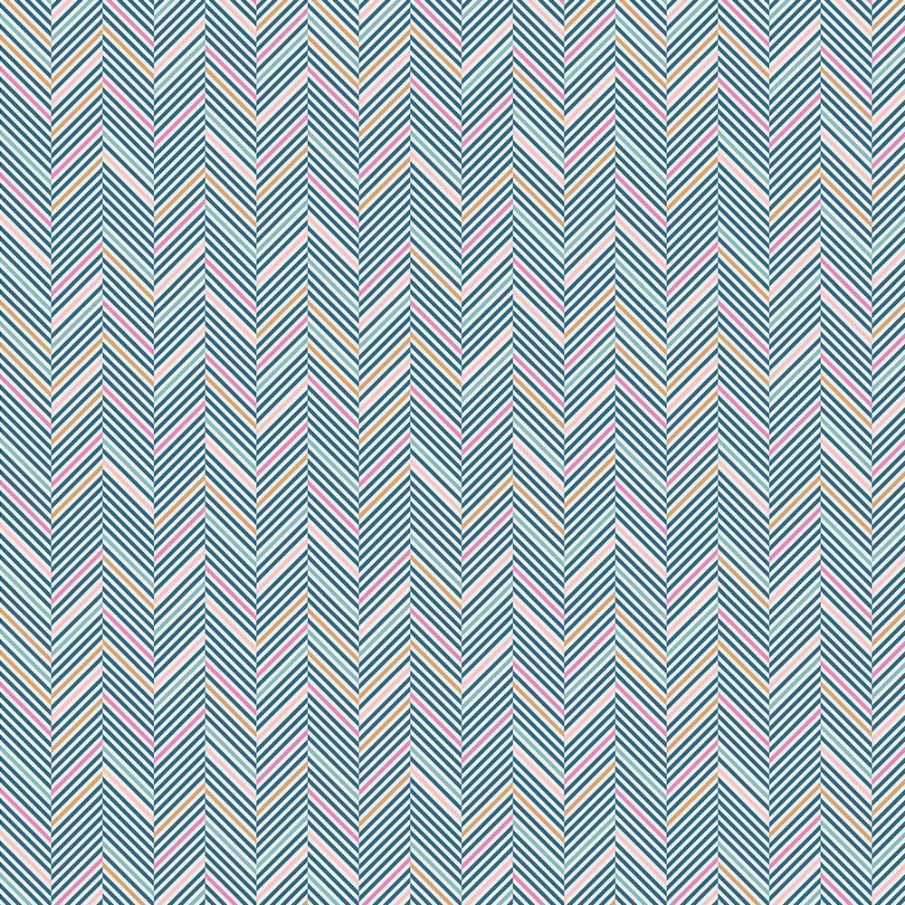 Art Gallery - Chopsticks, Iris by Amy Sinibaldi 95% Cotton, 5% Spandex Knit $18.90/yd