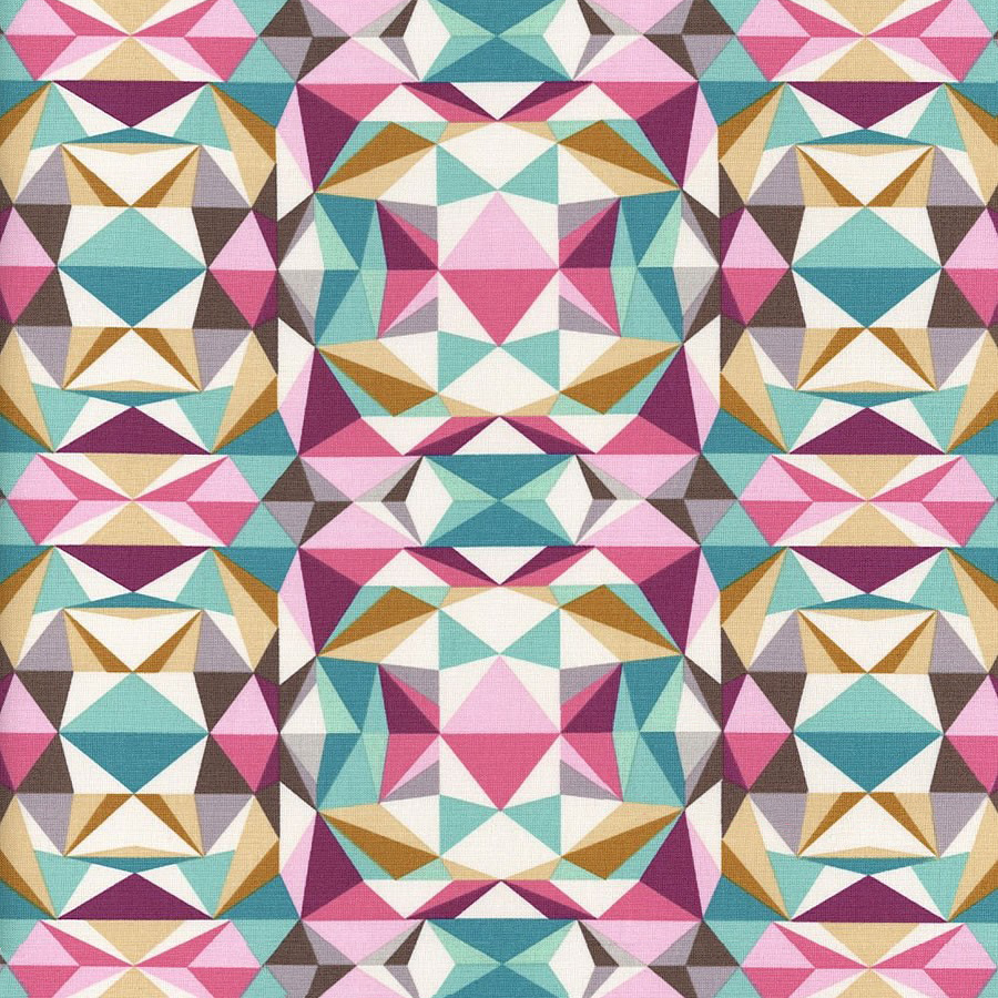 Free Spirit - Prismatic, Pink by Joel Dewberry 100% Cotton $11.90/yd