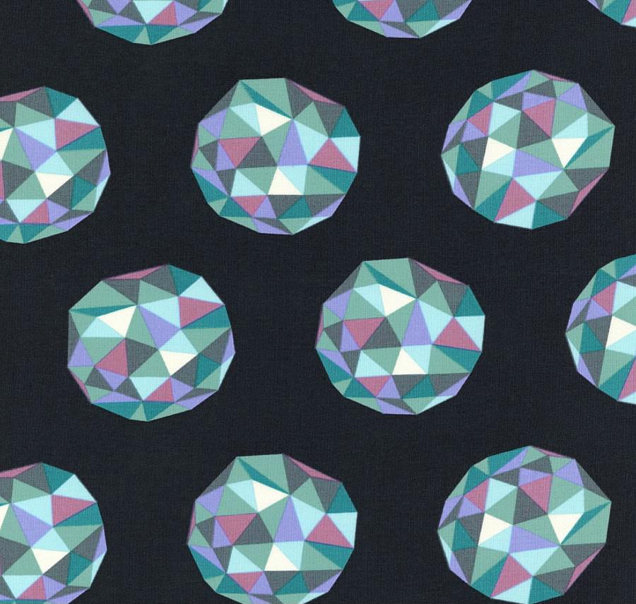 Free Spirit - Meteor Shower, Aquamarine by Tula Pink 100% Cotton $11.90/yd